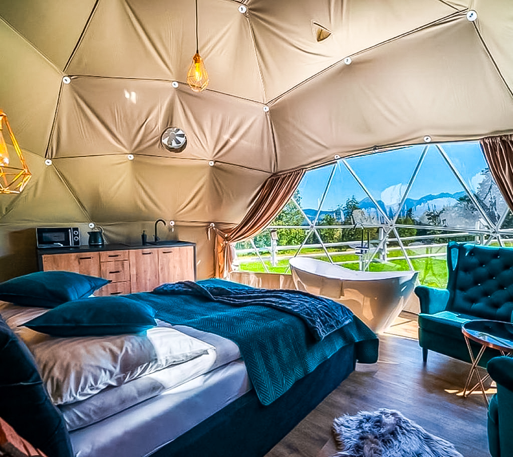 Domes / Glamping / Πολυτελείς Σκηνές για Καμπινγκ (Camping)